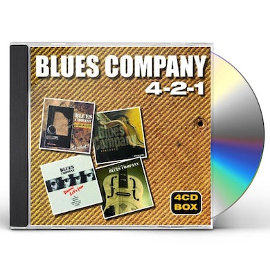 Blues Company 4-2-1 CD