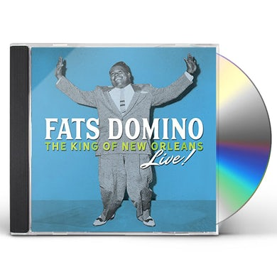 Fats Domino THE KING OF NEW ORLEANS LIVE CD