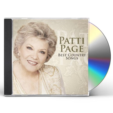 Patti Page BEST COUNTRY SONGS CD