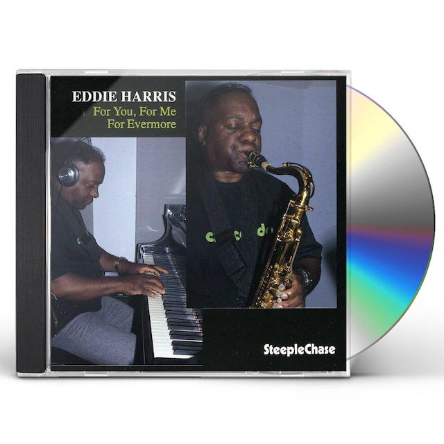 Eddie Harris FOR YOU FOR ME FOR EVERYONE CD