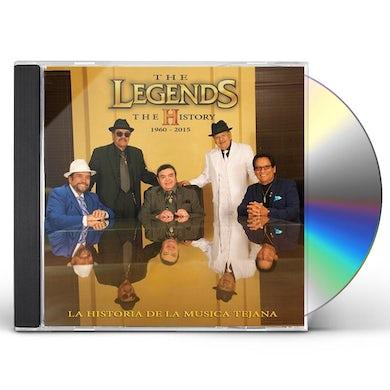 Legends HISTORIA DE LA MUSICA CD