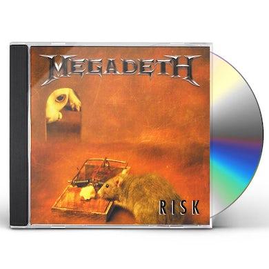 Megadeth RISK CD