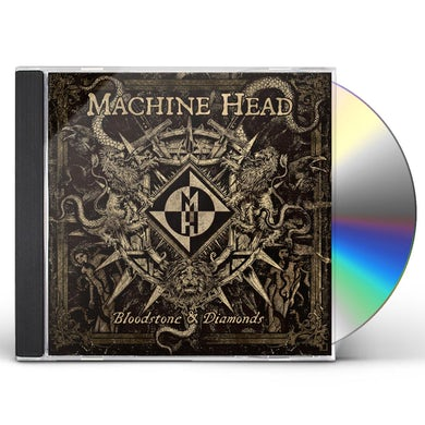 Machine Head BLOODSTONE & DIAMONDS CD