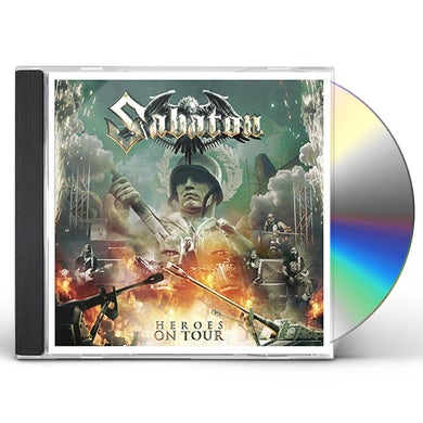 Sabaton HEROES ON TOUR CD