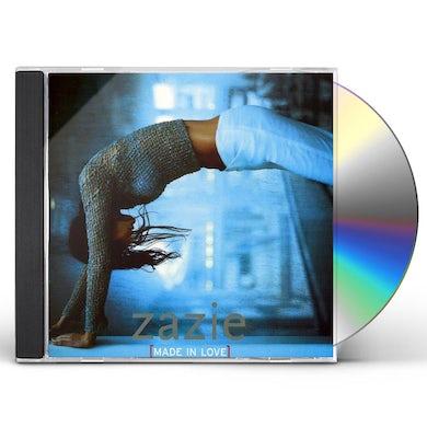 Zazie MADE IN LOVE CD