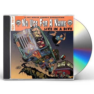 No Use For A Name LIVE IN A DIVE CD