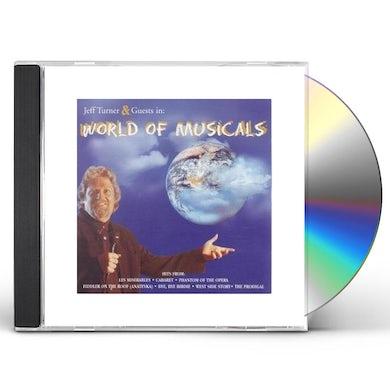 Jeff Turner WORLD OF MUSICALS CD