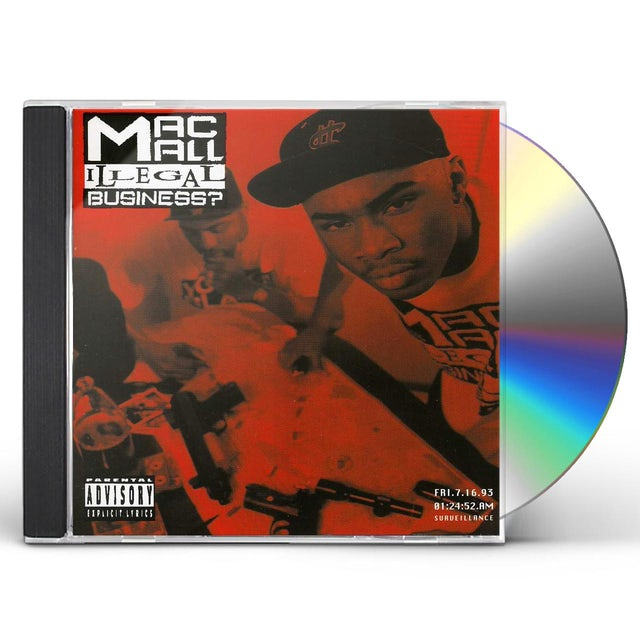 Mac Mall ILLEGAL BUSINESS CD