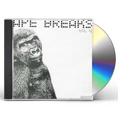 Ape Breaks VOLUME 4 CD