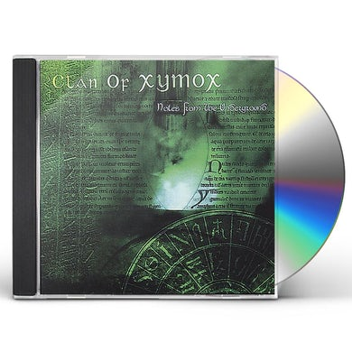 Clan Of Xymox NOTES FROM THE UNDERGROUND CD