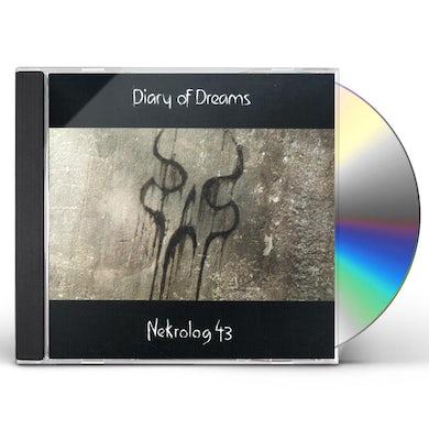 Diary Of Dreams NEKROLOG 43 CD
