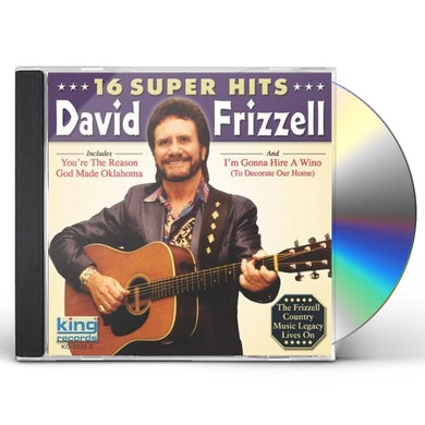 David Frizzell 16 SUPER HITS CD