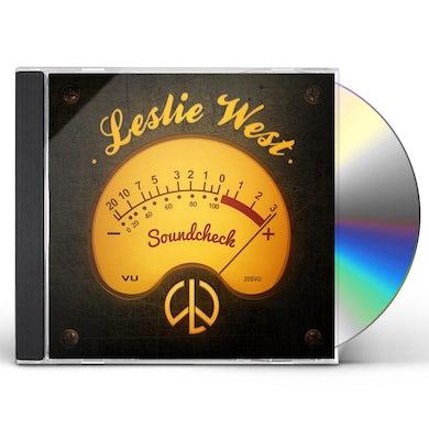 Leslie West SOUNDCHECK CD