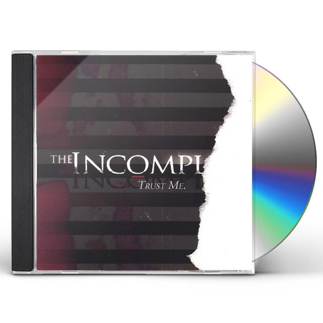 Incomplete TRUST ME. CD