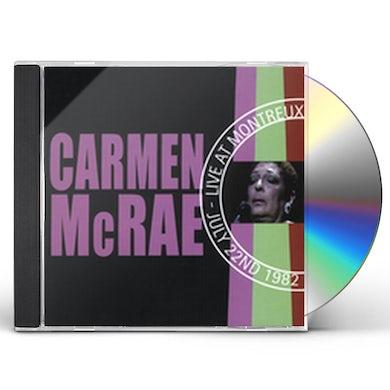 Carmen McRae LIVE AT MONTREUX 1982 CD