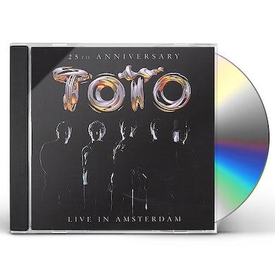 Toto 25TH ANNIVERSARY: LIVE IN AMSTERDAM CD