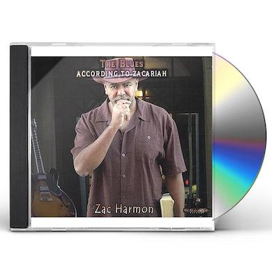 Zac Harmon BLUES ACCORDING TO ZACARIAH CD