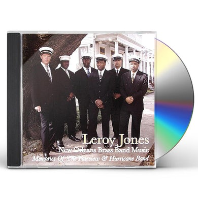 Leroy Jones NEW ORLEANS BRASS BAND MUSIC CD