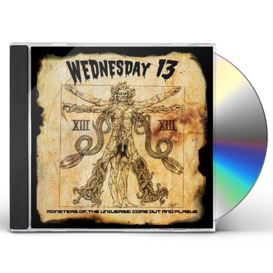 Wednesday 13 MONSTERS OF THE UNIVERSE: COME CD
