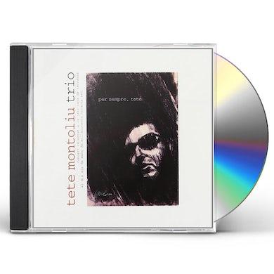 Tete Montoliu TETE PER SEMPRE CD