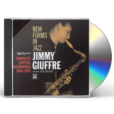 Jimmy Giuffre NEW FORMS IN JAZZ: COMPLETE CAPITOL 1954-1955 CD