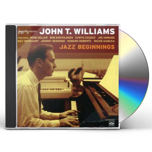 John Williams JAZZ BEGINNINGS 1956-58 CD