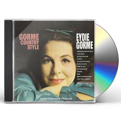 Eydie Gorme GORME COUNTRY STYLE CD