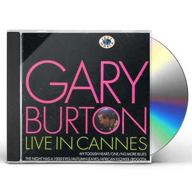 Gary Burton LIVE IN CANNES CD