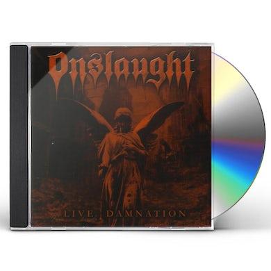 Onslaught LIVE DAMNATION CD