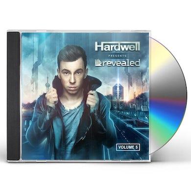 Hardwell REVEALED 5 CD
