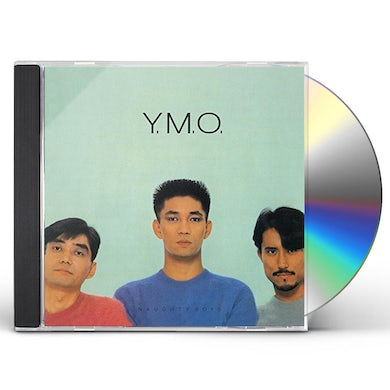 Yellow Magic Orchestra NAUGHTY BOYS & INSTRUMENTAL CD