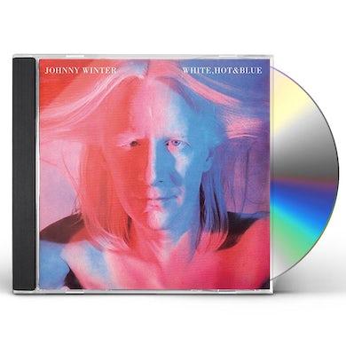 Johnny Winter WHITE HOT & BLUE CD