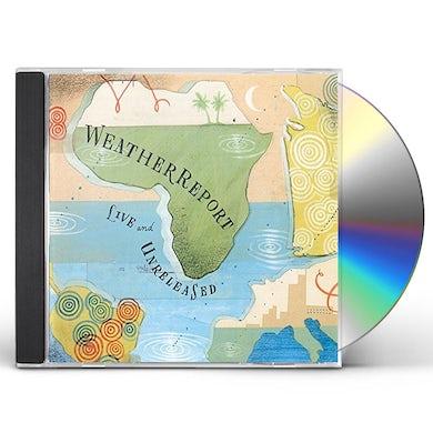 Weather Report LIVE & UNRELEASED CD