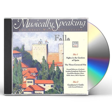London Symphony Orchestra DE FALLA / MUSICALLY SPEAKING / NIGHTS IN GARDENS CD