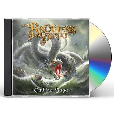 Brothers Of Metal Emblas Saga CD