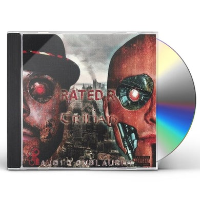 Rated R VS TRILIAN: AUDIO ONSLAUGHT CD