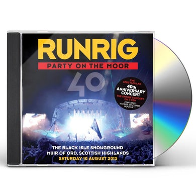 Runrig PARTY ON THE MOOR CD