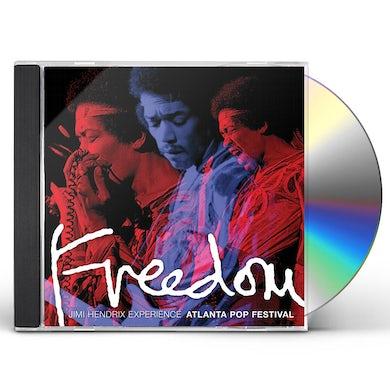 Jimi Hendrix FREEDOM: ATLANTA POP FESTIVAL CD