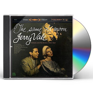 Jerry Vale SAME OLD MOON CD