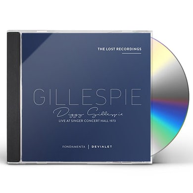 Dizzy Gillespie LIVE AT SINGER CONCERT HALL 1973 CD