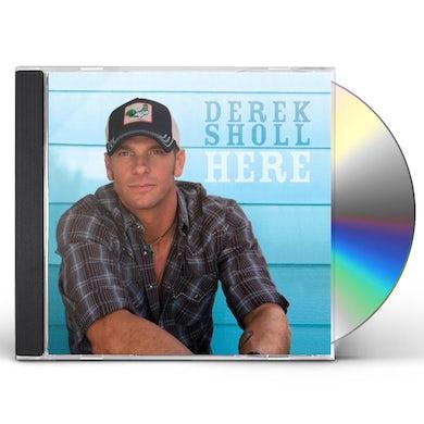 Derek Sholl HERE CD