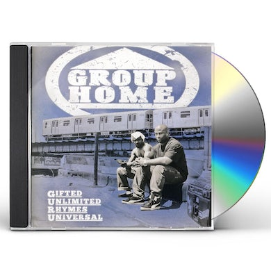 Group Home GIFTED UNLIMITED RHYMES UNIVERSAL CD