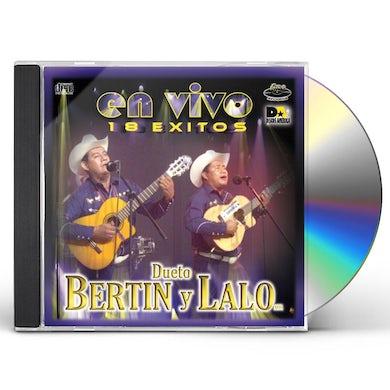 Bertin y Lalo EN VIVO CD