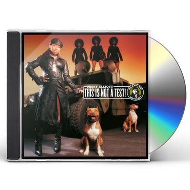 Missy Elliott THIS IS NOT A TEST CD