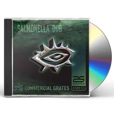 Salmonella Dub COMMERCIAL GRATES: 25 YEARS / 30 RADIO CUTS CD