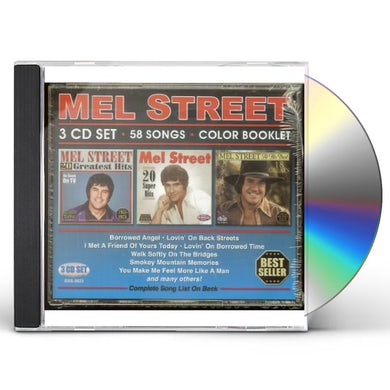 Mel Street 58 SONGS CD