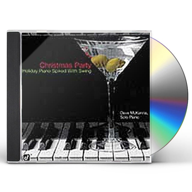 Dave McKenna CHRISTMAS PARTY: HOLIDAY PIANO SPIKED WITH SWING CD
