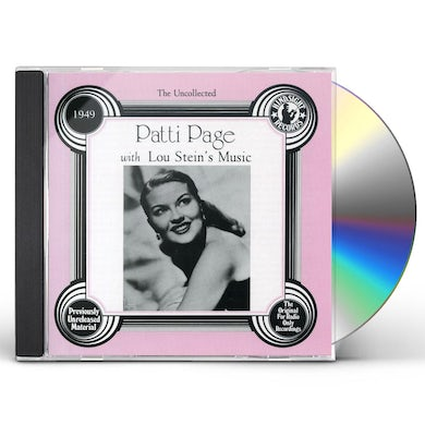Patti Page LOU STEIN'S MUSIC CD