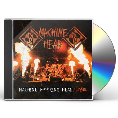 Machine Head MACHINE FUCKING HEAD LIVE CD