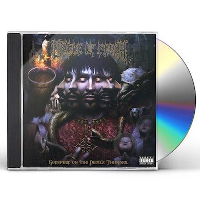 Cradle Of Filth GODSPEED ON THE DEVILS THUNDER CD